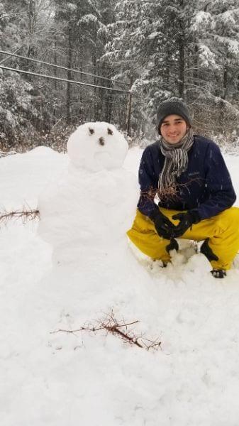 brazilian snowman