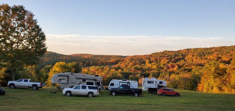 covid camping