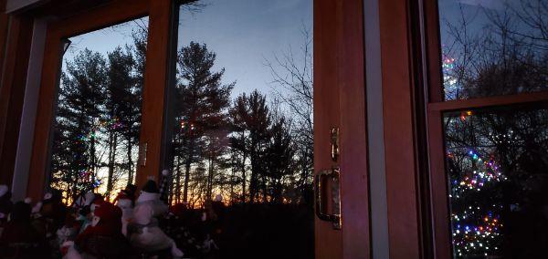 sunrise new years day
